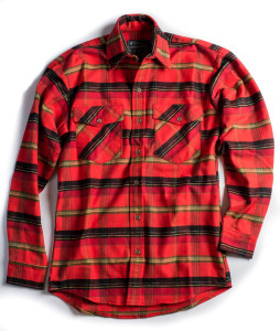 RED PLAID LONGFELLOW SHIRT