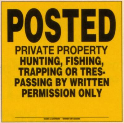 private_property_no_trespadding_hunting_written_permission